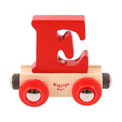 Rail Name Letter E (Red)