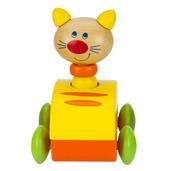 Squeaky Animal Car (Cat)