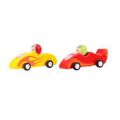 Pull Back Racing Car (Pack of 2 - Red and Yellow)