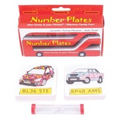 Number Plates Card Games