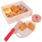 Cutting Bread and Pastries Crate