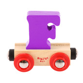 Rail Name Letter F (Purple)
