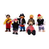 Heritage Playset Pirates Set