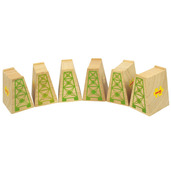 High Level Blocks (Pack of 6)