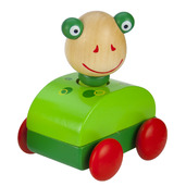 Squeaky Animal Car (Frog)