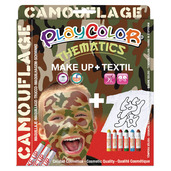 Basic Make Up Pocket 5g + Textil One 10g (Camouflage Set)