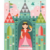 Royal Castle 64-Piece Tin Canister Puzzle