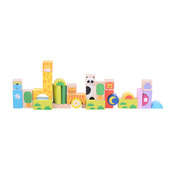 Safari Animal Building Blocks