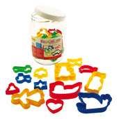 Jar of 24 Pastry Cutters