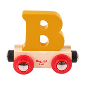 Rail Name Letter B (Orange)