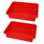 Train Table Drawer (Red) (Pack of 2)