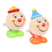 Jumping Clown Heads (Pack of 2 - Green Feet and Orange Feet)