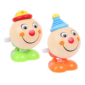 Jumping Clown Heads (Pack of 2 - Green Feet and Orange Feet)
