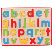 Inset Puzzle Lowercase Alphabet