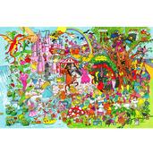 Fantasyland Floor Puzzle (192 Piece)