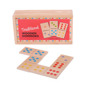 Traditional Wooden Dominoes
