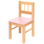Wooden Chair (Pink)