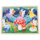 Enchanted Fairies Tray Puzzle (35 Pieces)