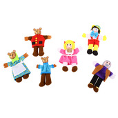 Goldilocks Finger Puppets