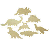 Dinosaur Drawing Templates