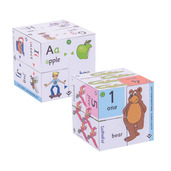Pre-School Cube Book Pack - Alphabet and Numbers Cubes