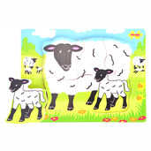 Chunky Puzzle Sheep and Lamb