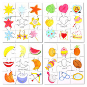 Shapes Puzzles Set 2 (Set of 4)