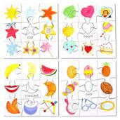 Shapes Puzzles Set 2 (Set of 4)
