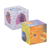 Science Cube Book Pack - Human Body and Planets Cubes