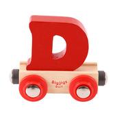 Rail Name Letter D (Dark Red)