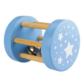 Large Roll Rattle (Blue)