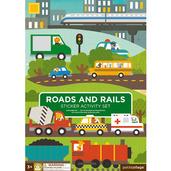 Roads and Rails Sticker Activity Set