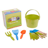 My First Gardening Tools (Green Bucket)