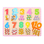 Number and Colour Matching Puzzle