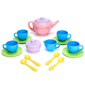 Tea Set (Pink Teapot)