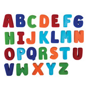 Large Magnetic Alphabet Set Upper Case