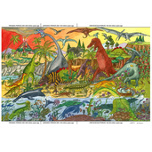 Dinosaur Floor Puzzle (48 Piece)