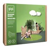 Bloks Big Interlocking Cardboard Building Blocks (30 Blocks)