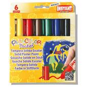 Basic Pocket 5g (Pack of 6 - Assorted Colours)