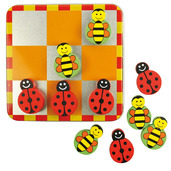 Noughts and Crosses (Ladybird and Bee)