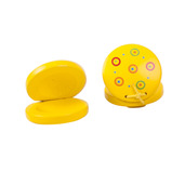 Snazzy Castanets (One Pair - Yellow)