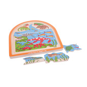 Dinosaur Arched Puzzle