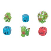Dino Dice Numbers and Dots