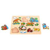 Wildlife Lift Out Puzzle