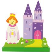 Vertical Magnetic Puzzle Princess