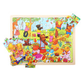 Tray Puzzle Teddy's Picnic