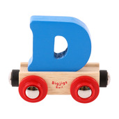 Rail Name Letter D (Blue)