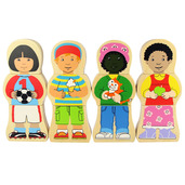 Children At Play Magnetic Puzzle