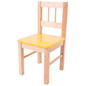 Wooden Chair (Yellow)