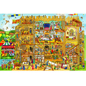 Castle Floor Puzzle (96 Piece)